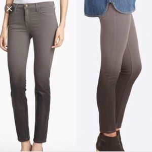 Current Elliot the stiletto ombré coated jeans